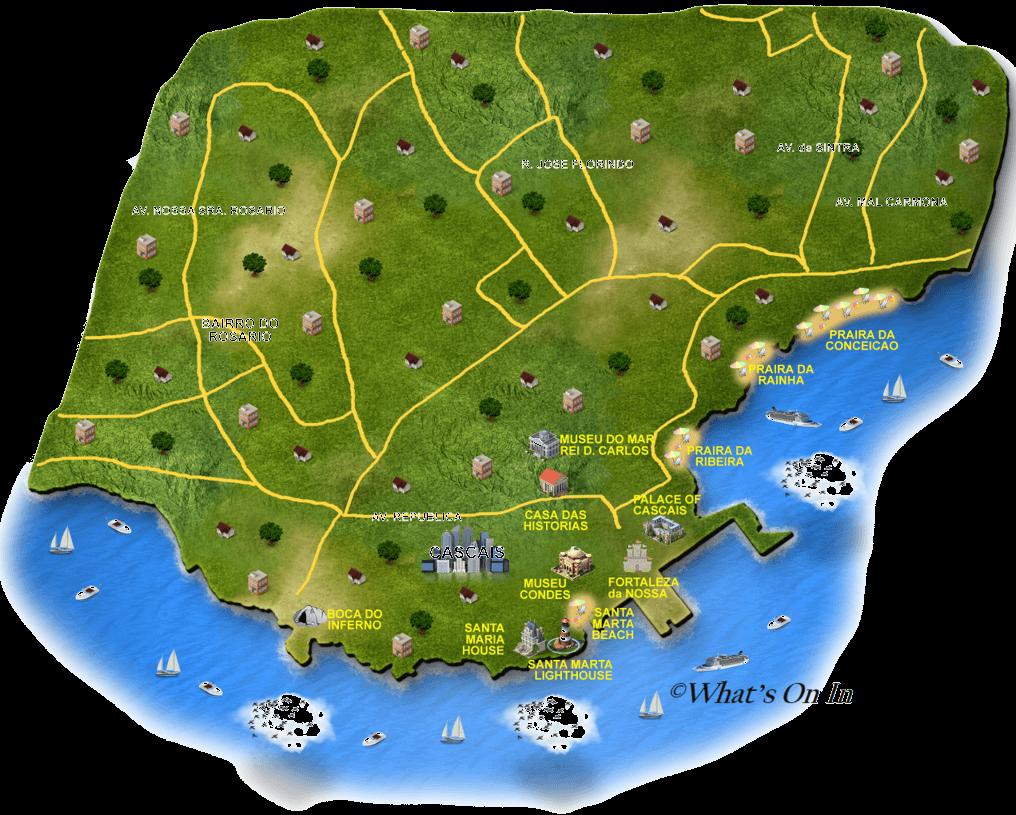 Cascais Map